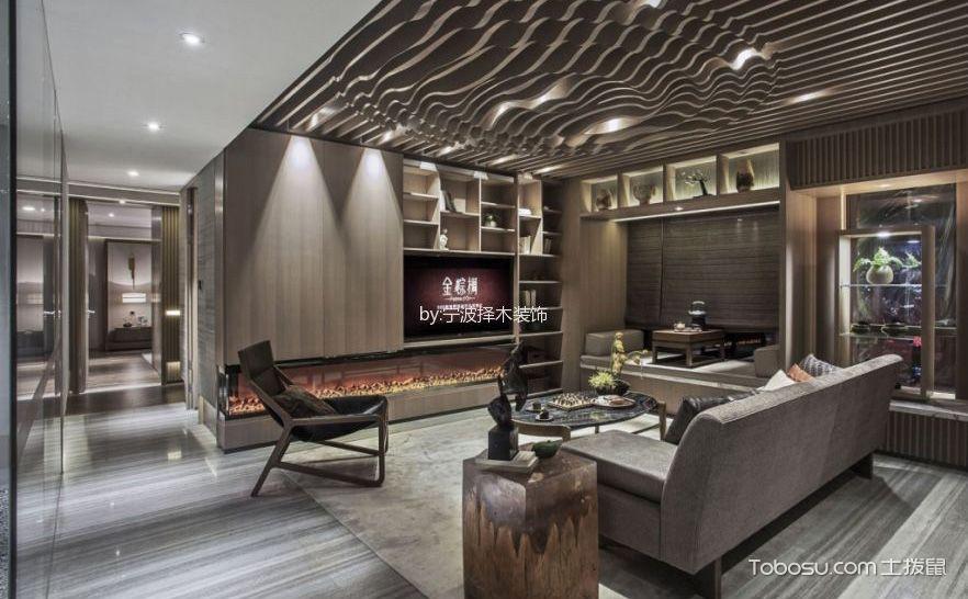 2017最新简约风格装修设计,180平米的时尚大宅