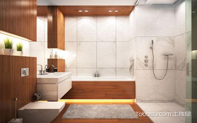 卫生间设计注意事项之设计布局