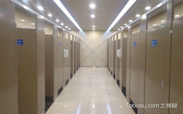 什么是卫生间隔断之门扇安装