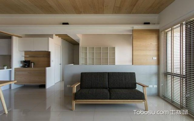 日式风格元素有哪些之原木色家具