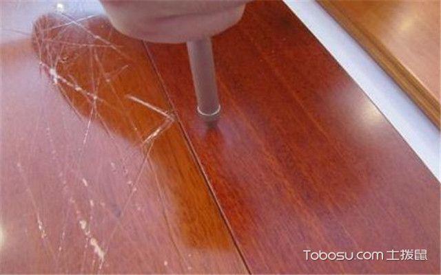 木地板划痕怎么修补之深划痕修复