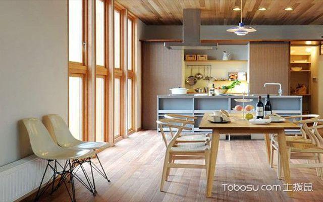 日式厨房装修设计方法之开放式设计