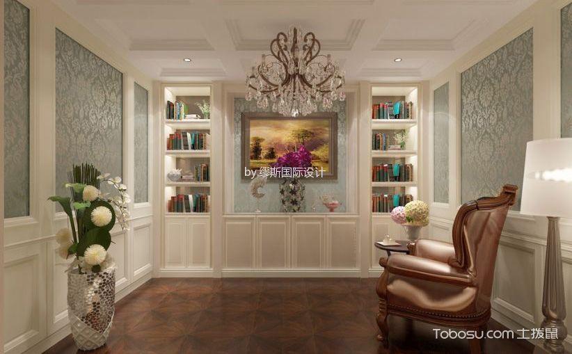 32万欧式别墅设计,最爱家庭影院与吧台