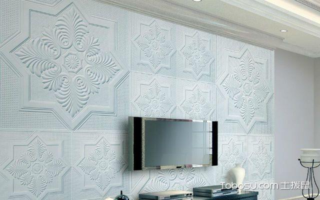 石膏线电视背景墙的分类之纸面