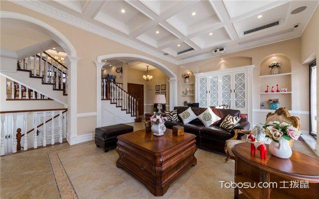 现代美式风格设计说明——客厅