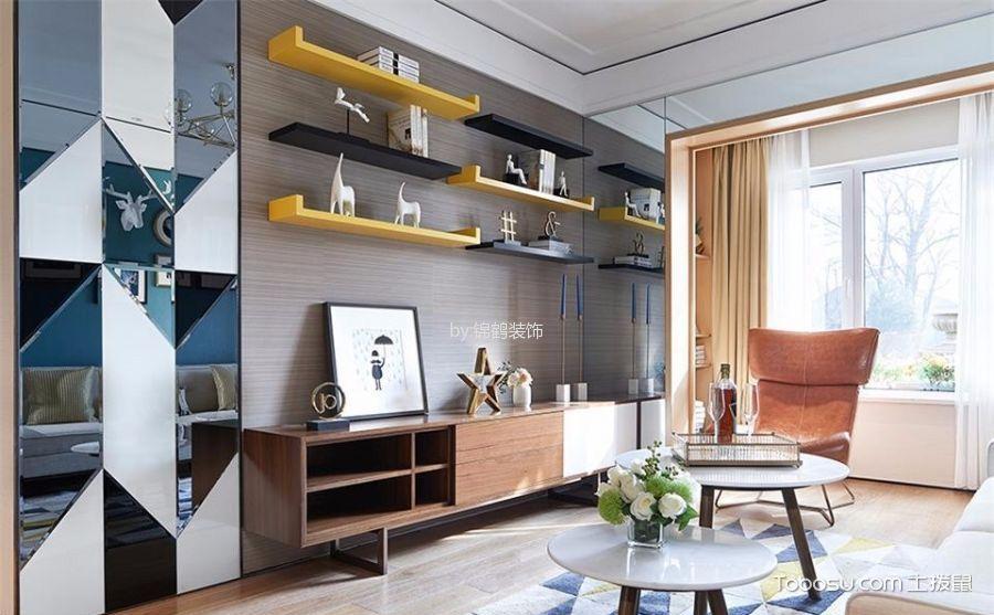 8款简约风格客厅设计图,为你时尚随性的生