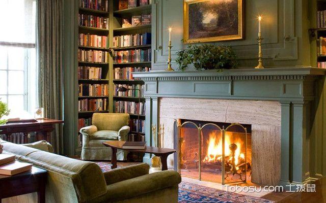 美式风格元素有哪些之壁炉