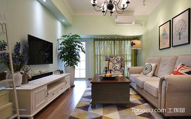 75平米两室一厅装修
