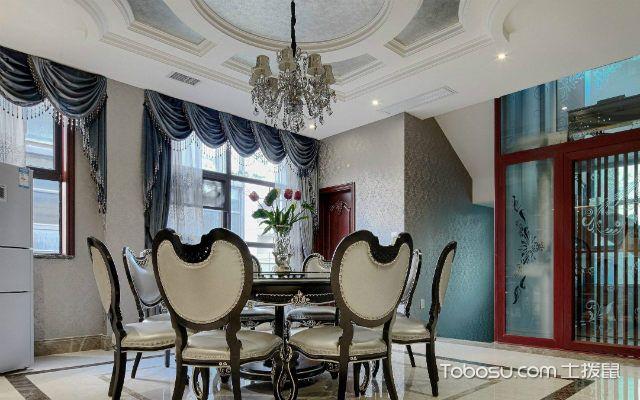 美式风格餐厅设计说明注重实用