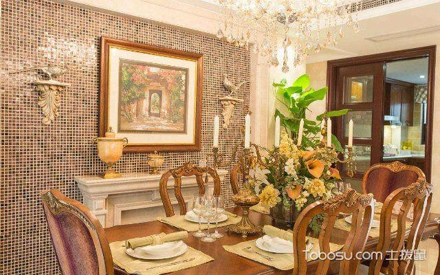 美式风格餐厅设计说明崇尚古典