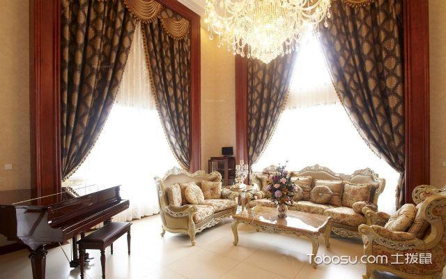 美式风格窗帘如何搭配之窗帘杆选择