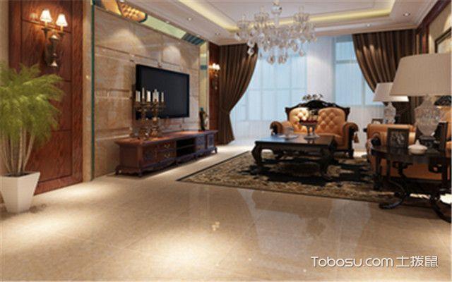 仿大理石瓷砖规格——客厅
