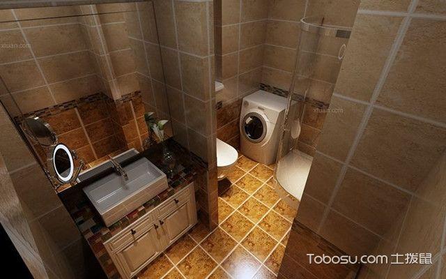 美式风格卫生间的设计要点之特点