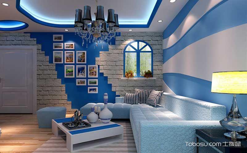 地中海风格照片墙装修设计,大白墙秒变亮丽风景
