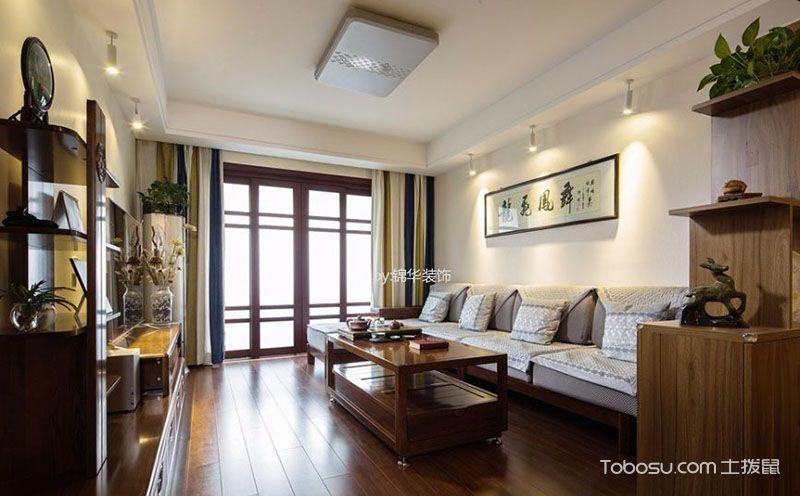 中式客厅背景墙图片大全,感受中华文化古韵
