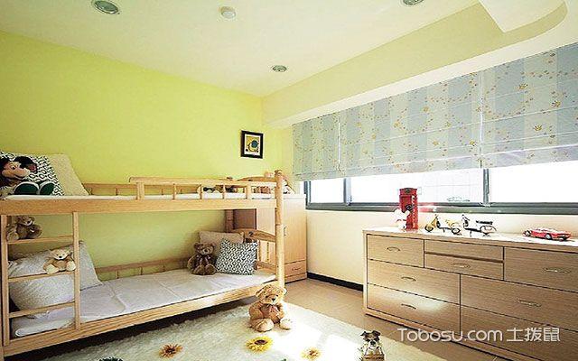 男儿童房选什么颜色好