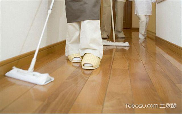 地板油漆脱落如何处理之修补蜡