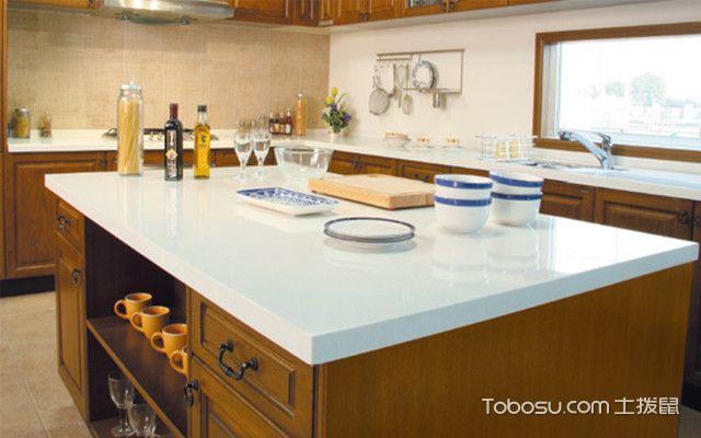 大理石台面如何清洁之厨房污渍
