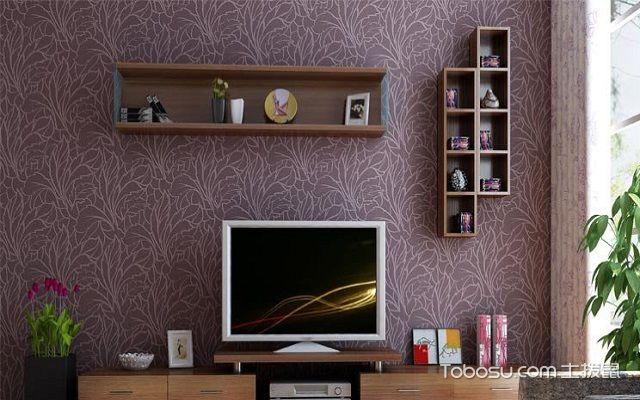 挂墙电视柜款式效果图,感受家居装修的立体感图片
