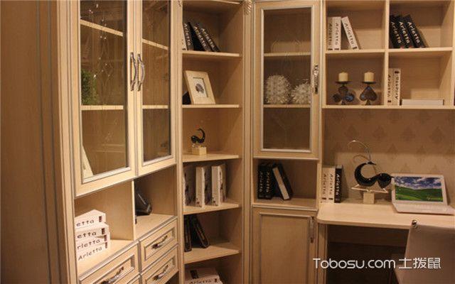 转角书柜的特点之节省空间