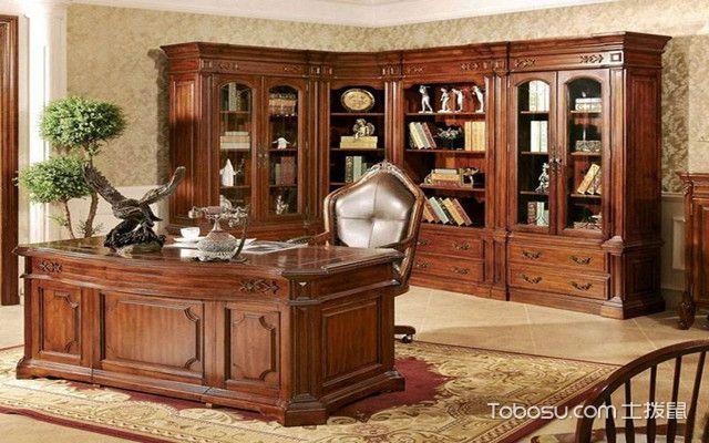 欧式书柜的选购技巧之造型