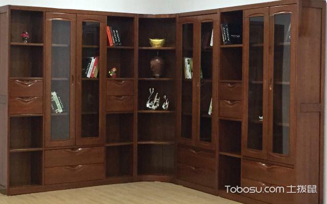 中式书柜的特点讲究对称