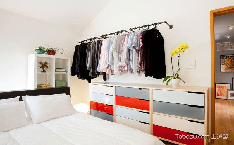 现代简约卧室柜子图片,实用先行装饰也不差