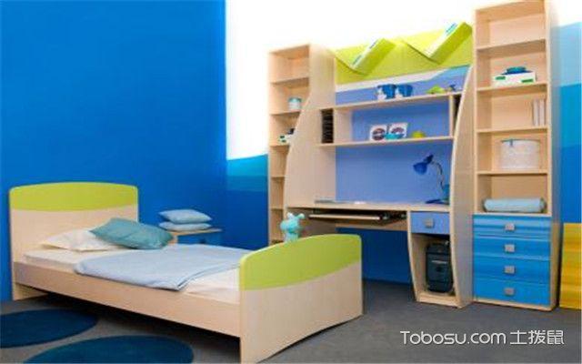 儿童房书柜选购——颜色要鲜艳