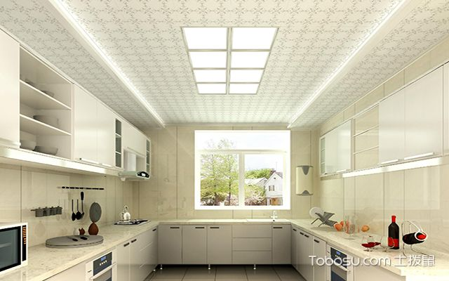 厨房天花板吊顶图