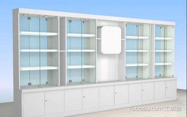 展示柜设计要点之简洁大方