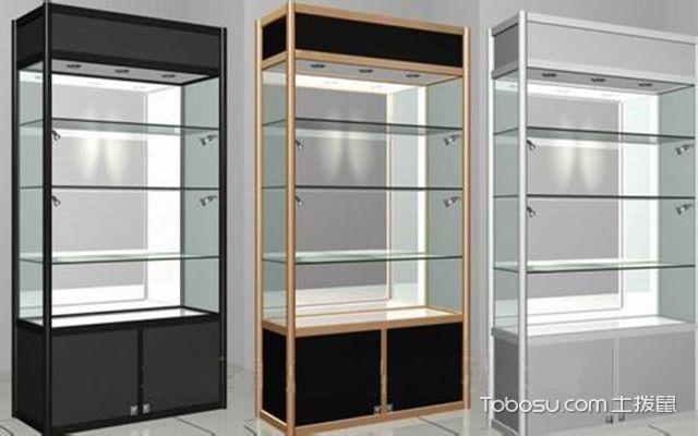 展示柜设计要点之结构合理