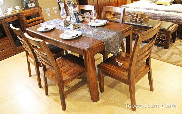 实木餐厅家具如何选购之造型