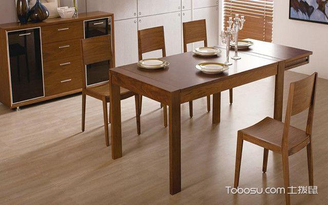 实木餐厅家具如何选购之稳固性