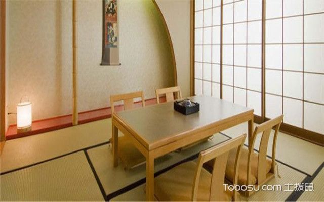 日式餐厅家具特点有哪些——设计简约