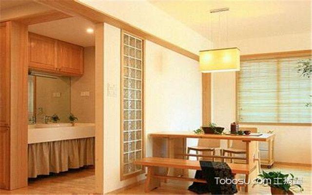日式餐厅家具特点有哪些——颜色淡雅