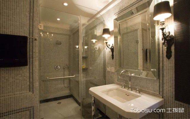 卫生间用什么材料之玻璃
