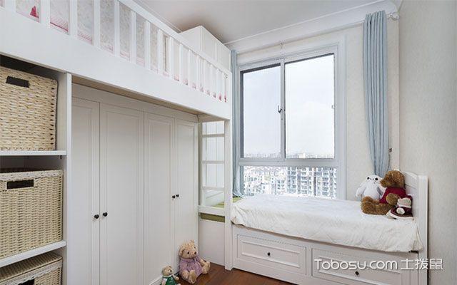 73平二居室装修效果图