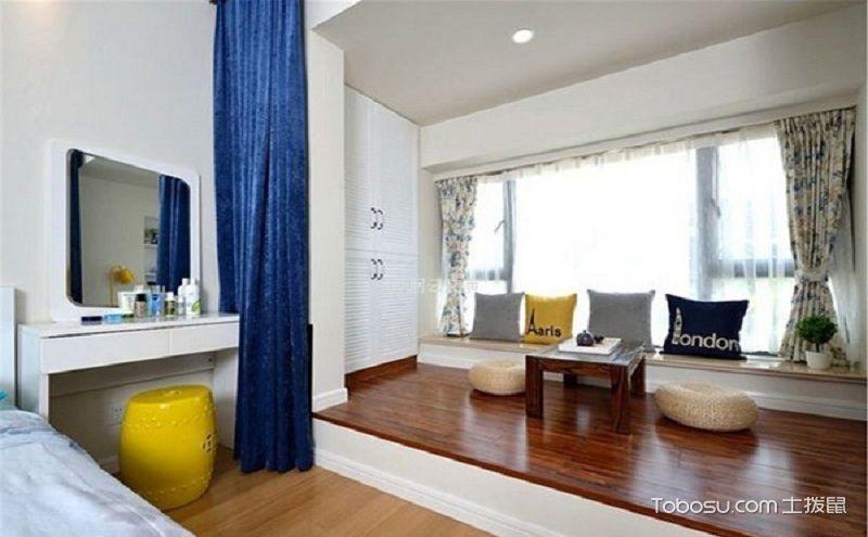 小卧室榻榻米效果图,多功能的空间运用