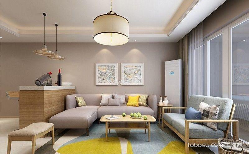 100平三居室装修效果图,简约北欧风装点你的家