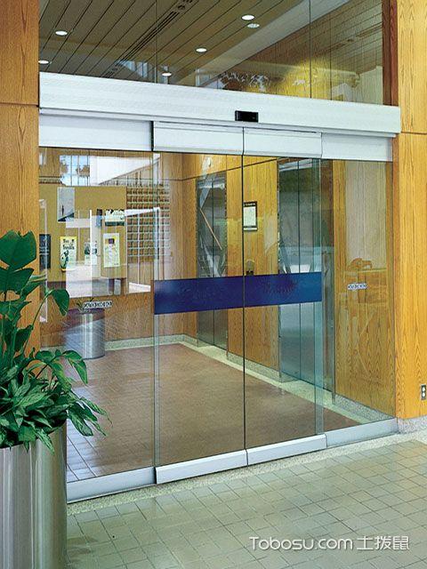 自动玻璃门