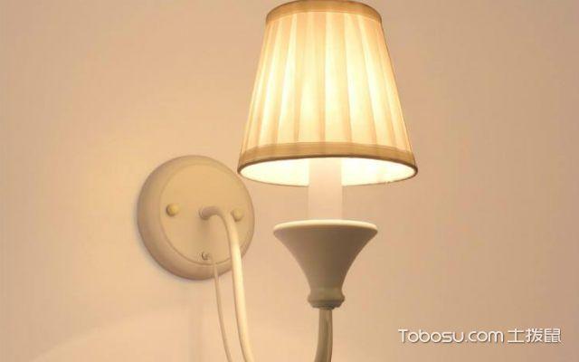 壁灯怎么安装之打孔
