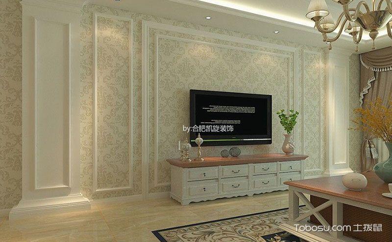 八张护墙板电视背景墙效果图,庄重与奢华并存~