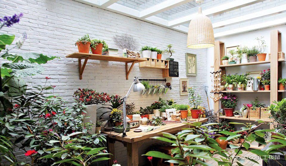 小花园设计装修效果图,家里也可以姹紫嫣红