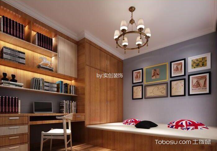 卧室墙面收纳效果图-榻榻米