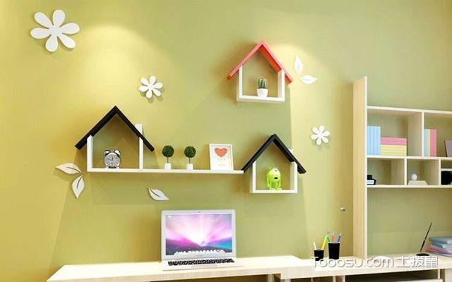 墙上书架设计效果图,装点极具创意的室内空间!图片