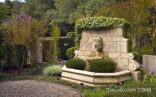 地中海风格的景观特点之植物点缀
