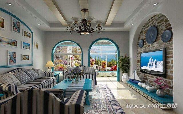 地中海风格软装特点之装修特色