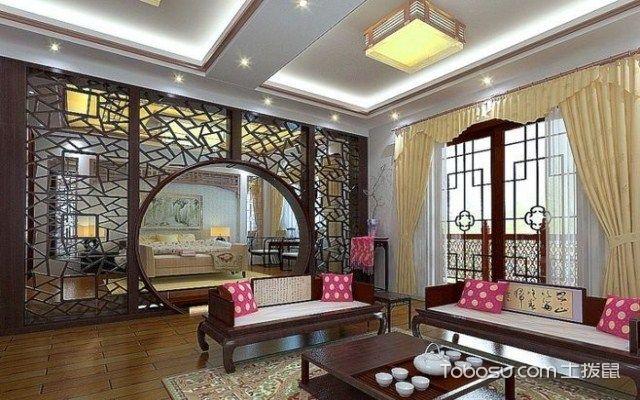 中式古典风格有什么特点之色彩搭配