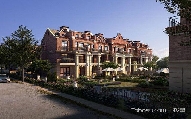 双拼别墅与联排别墅的区别之联排别墅