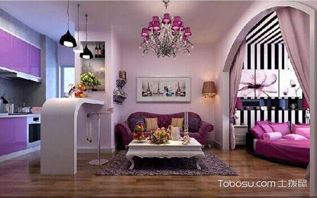 公寓设计要点之色彩鲜明
